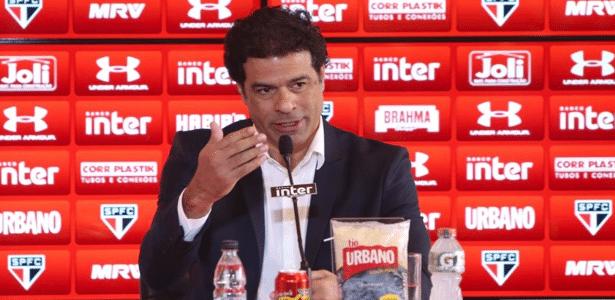 O diretor de futebol do São Paulo, Raí, trabalha para evitar que o clube perca jogadores após o Paulistão - Rubens Chiri/Divulgação