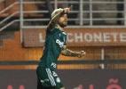 Lucas Lima marca e provoca, mas Palmeiras cede empate ao Santos no Pacaembu - Daniel Vorley/AGIF