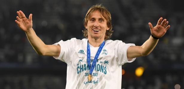 O Mundial de Clubes 2017 foi vencido pelo Real Madrid de Luka Modric - Mike Hewitt - FIFA/FIFA via Getty Images