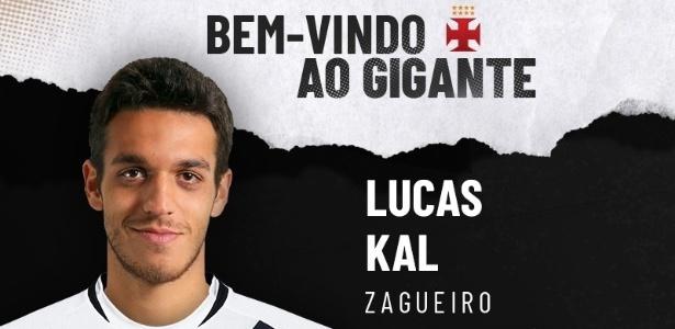 Vasco anuncia a contratação de zagueiro Lucas Kal, do São Paulo - Divulgação / Vasco.com.br