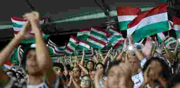 Torcida do Fluminense no Maracanã - Lucas Merçon/Fluminense