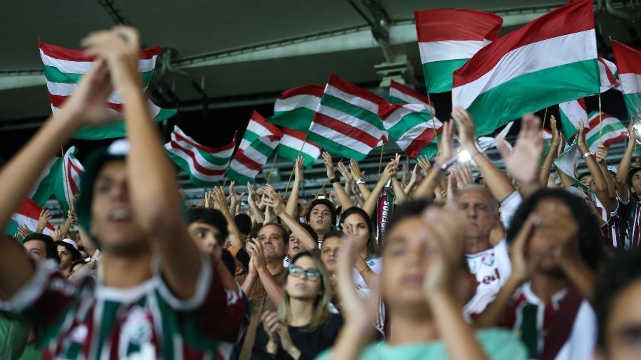 Uso do Maracanã, neste começo de Brasileiro, não tem sido rentável ao Fluminense - Lucas Merçon/Fluminense