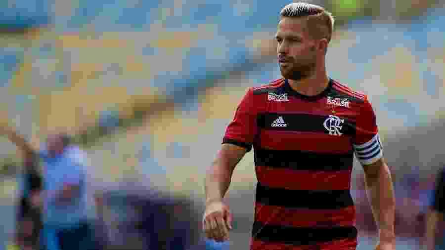 Diego virou alvo de críticas dos rubro-negros após perder pênalti contra o Athletico-PR - Thiago Ribeiro/Agif