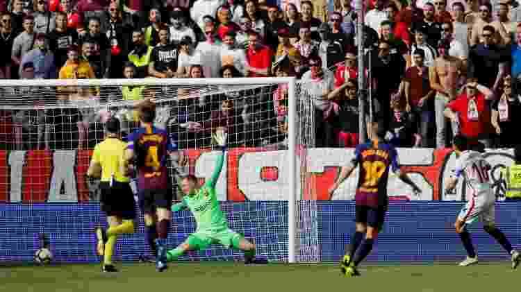 Navas marca para o Sevilla - REUTERS/Marcelo del Pozo  - REUTERS/Marcelo del Pozo