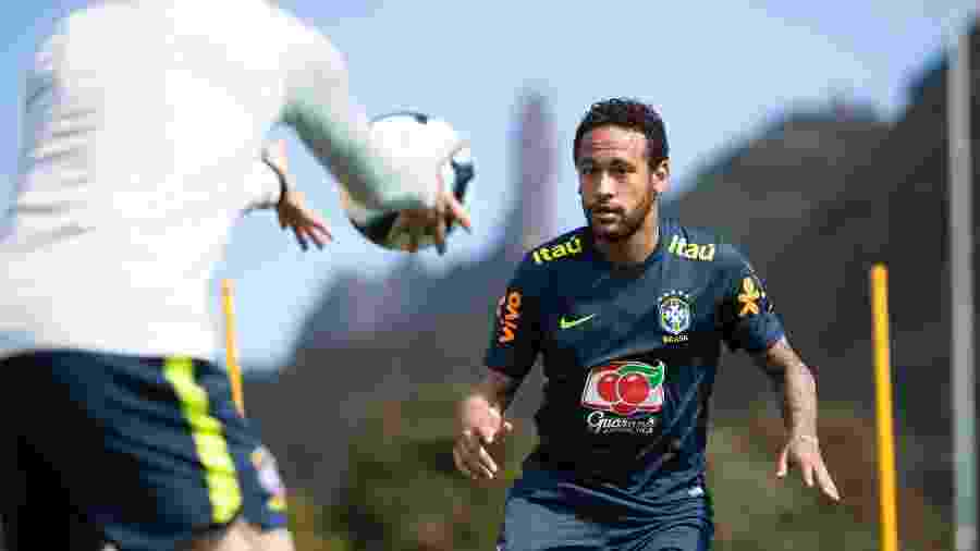 Neymar é um dos 23 convocados da seleção brasileira para a disputa da Copa América - Lucas Figueiredo/CBF