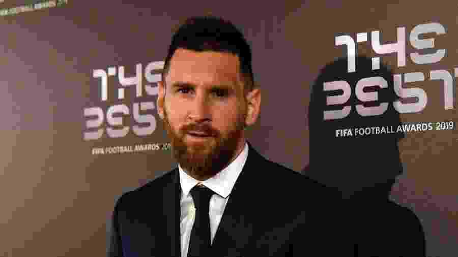 """Lionel Messi conquistou o prêmio """"The Best"""", da Fifa - Claudio Villa/Getty Images"""