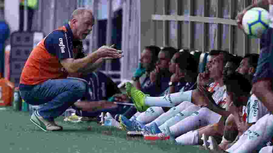 Mano Menezes foi demitido do comando do Palmeiras no último domingo (1) - Cesar Greco/Ag. Palmeiras/Divulgação