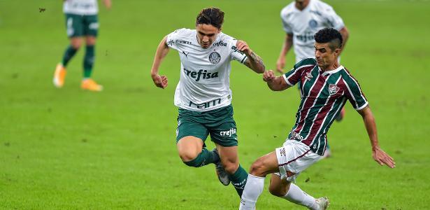 1 a 1 no Brasileirão   Fluminense e Palmeiras empatam em jogo de pouca emoção