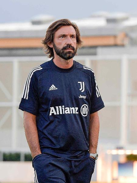 Andrea Pirlo durante treino da Juventus - Daniele Badolato/Getty Images