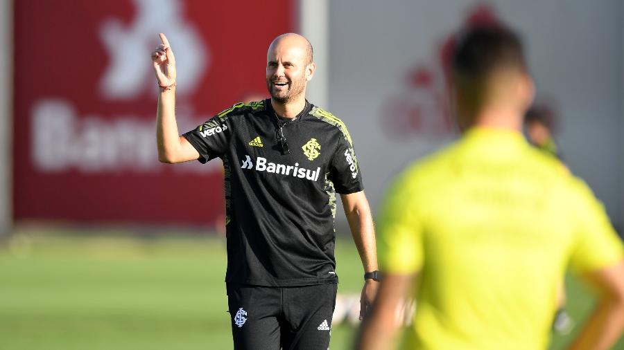 Miguel Ángel Ramírez, técnico do Inter, terá tempo para trabalhar suas ideias no time - Ricardo Duarte/Inter