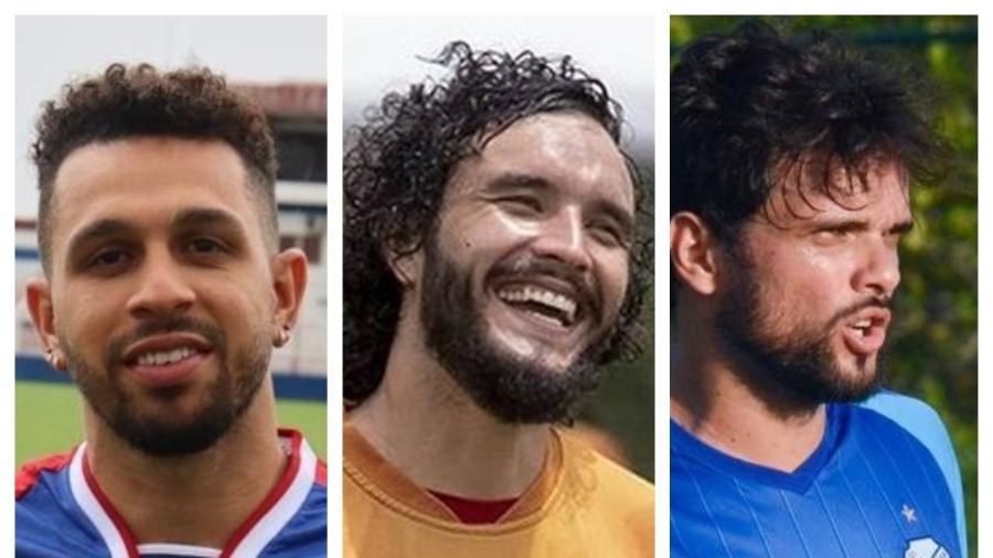 Wellington Nem, Keké e Norberto estão próximos de acerto com o Cruzeiro para sequência da Série B - Bruno Oliveira, Victor Souza e Augusto Oliveira