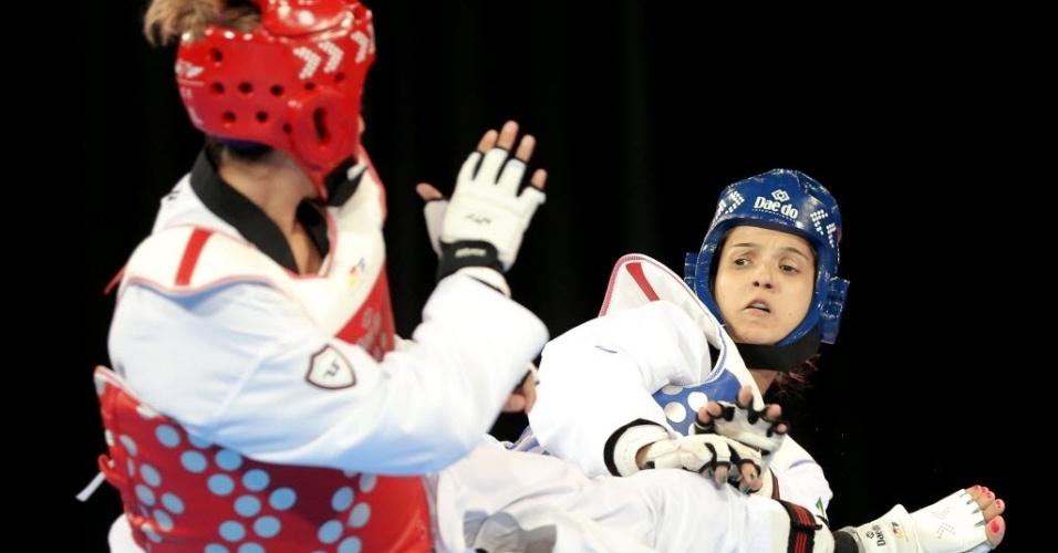 Raphaella Galacho levou medalha de bronze no taekwondo na categoria acima dos 67kg no Pan de Toronto