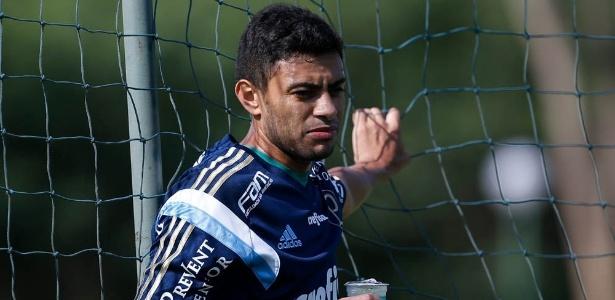 Cleiton Xavier jogou 18 partidas depois de voltar ao Palmeiras no ano passado