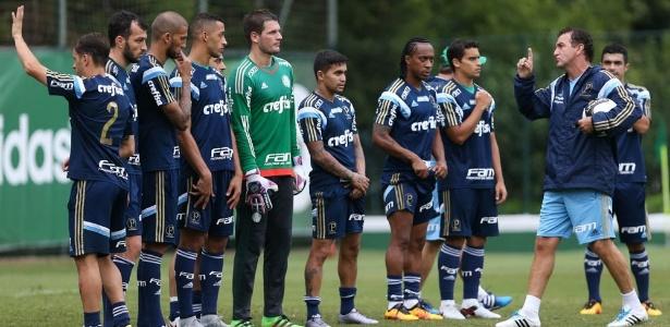 Cuca comandará o Palmeiras pela 10ª vez nesta segunda-feira