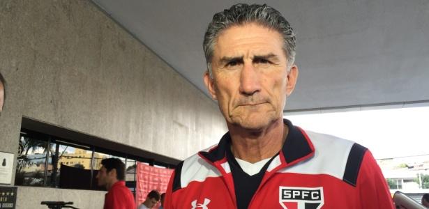 Treinador não fez mistério para confirmar qual time do São Paulo vai jogar no Horto