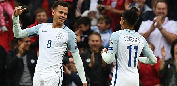 Delle Alli (esq.) já é convocado para a seleção da Inglaterra