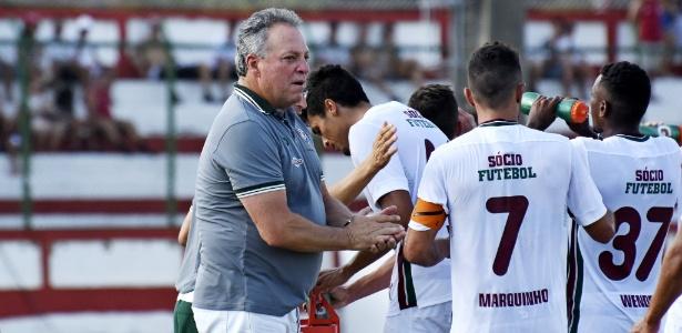 Técnico Abel Braga tem participação no bom momento do time