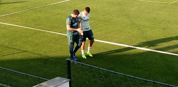 Juninho deixou o treino de quinta com dores no tornozelo; camisa 4 será desfalque