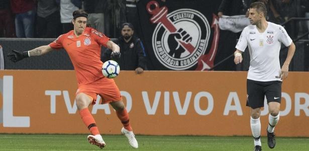 Cássio é dúvida para o jogo contra o Colo-Colo válido pelas oitavas da Libertadores - Daniel Augusto Jr/Ag. Corinthians