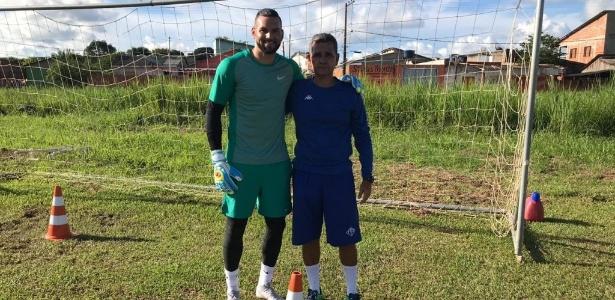 Weverton aproveitou passagem pelo Acre para manter a forma no Atlético-AC - Atlético-AC/Divulgação