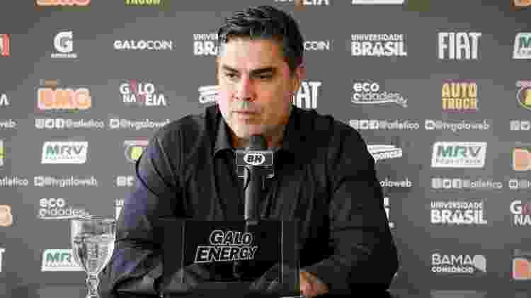 Presidente do Atlético-MG, Sérgio Sette Câmara ainda não definiu o próximo treinador do Galo - Bruno Cantini/Divulgação/Atlético-MG