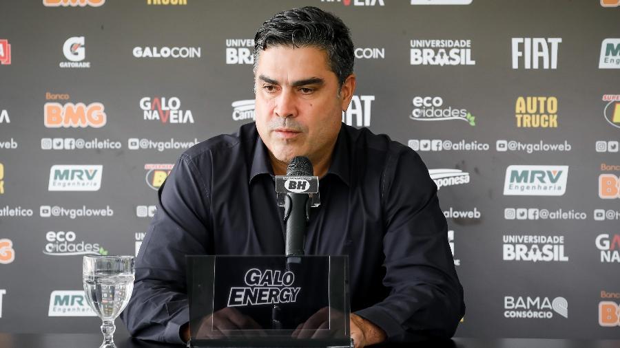 Sérgio Sette Câmara, presidente do Atlético-MG, planeja economia nos cofres do clube - Bruno Cantini/Divulgação/Atlético-MG