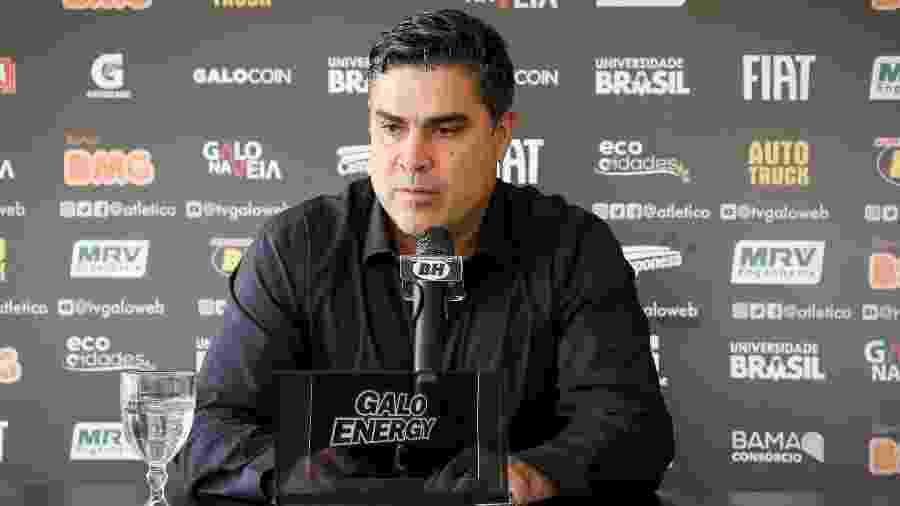 Sérgio Sette Câmara, presidente do Atlético-MG, move ação por danos morais contra o atacante Fred, do Cruzeiro - Bruno Cantini/Divulgação/Atlético-MG