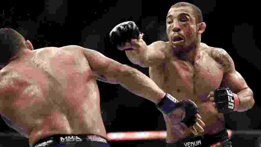 José Aldo em luta contra Chad Mendes no UFC Rio 5: organização planeja mais um evento no Brasil em 2019 - Alexandre Loureiro/inovafoto