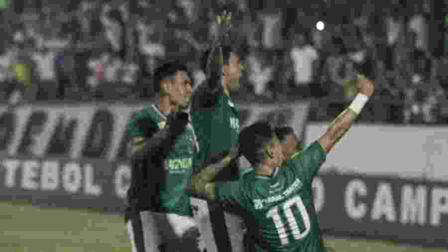 Briga aconteceu após o triunfo do Guarani sobre o Vitória, pela Série B - DIvulgação/Guarani FC