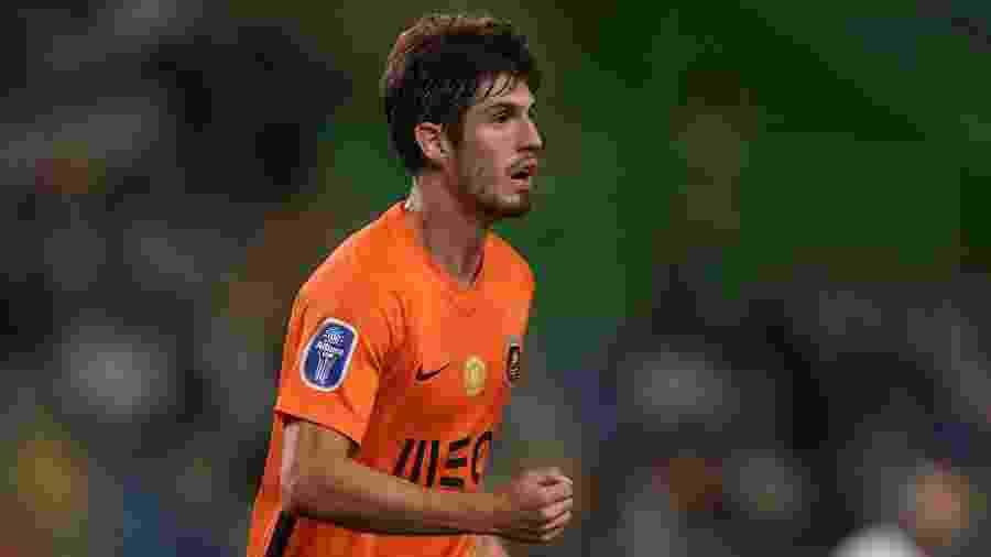Lucas Piazón comemora após marcar pelo Rio Ave contra o Sporting - Gualter Fatia/Getty Images