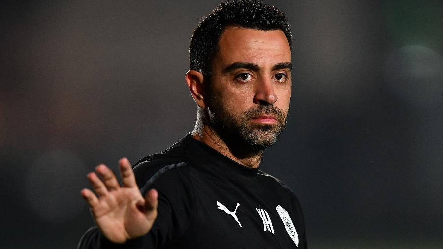 Xavi, lenda do Barcelona, é o técnico do Al-Sadd - Nikku/Xinhua
