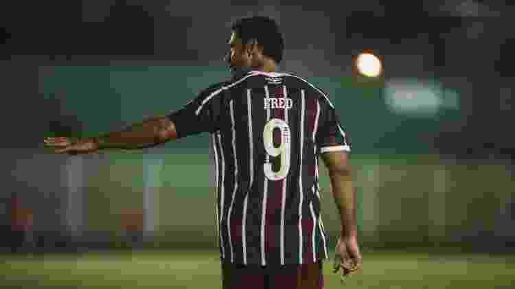 Fred passou em branco nos dois jogos que disputou em sua volta ao Fluminense - Lucas Merçon/Fluminense FC - Lucas Merçon/Fluminense FC