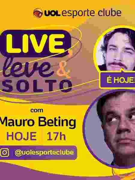 Live, Leve e Solto com Mauro Beting - Divulgação