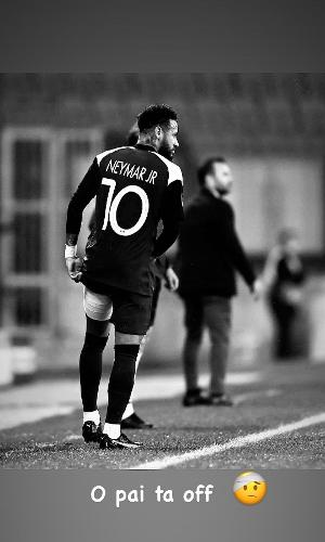 Neymar Jr lamenta lesão