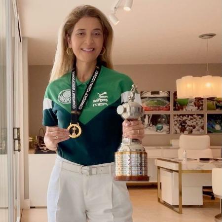 Leila Pereira é conselheira do Palmeiras e presidente da Crefisa - Reprodução/Twitter