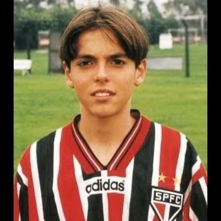 Kaká nas categorias de base do São Paulo - Reprodução/Twitter @SaoPauloFC