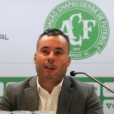 Técnico Jair Ventura durante coletiva de imprensa - Márcio Cunha/ACF