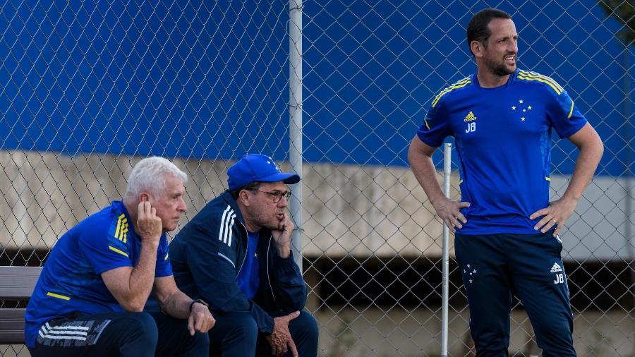 Em seis jogos pelo Cruzeiro, Luxemburgo segue invicto e tem três vitórias e outros três empates - Gustavo Aleixo/Cruzeiro