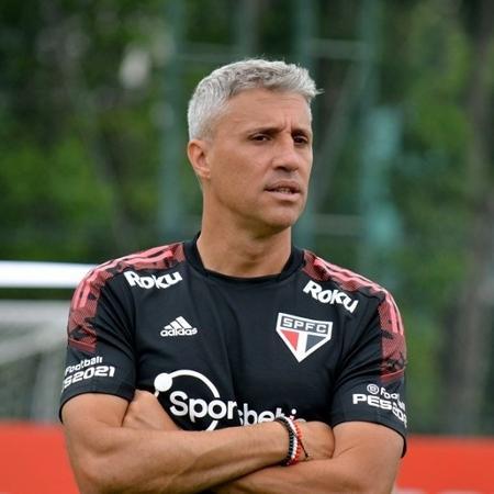 Crespo comanda treino no São Paulo - Érico Leonan/saopaulofc.net
