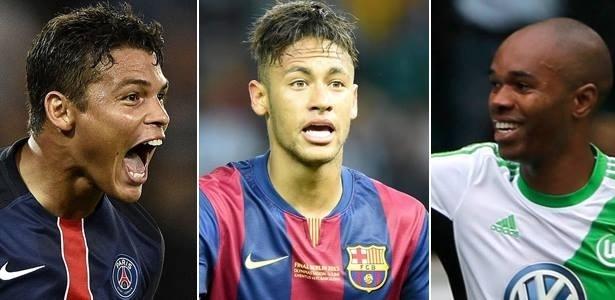 Thiago Silva, Neymar e Naldo estão entre os melhores do Fifa 16