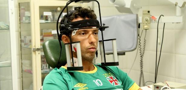 Nenê passa por avaliações médicas do Caprres no Vasco