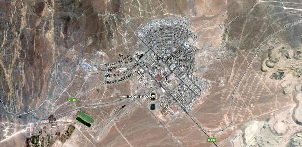 Cidade de 8 mil habitantes fica no deserto do Atacama, a mais de 2 mil metros de altitude