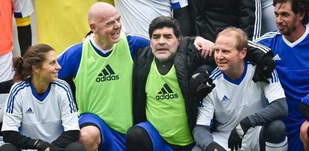 Maradona acredita que Copa inchada será importante para centros menos badalados do futebol