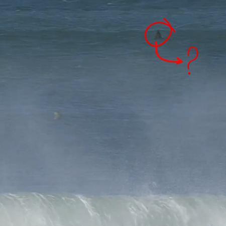 Seria um tubarão perto do brasileiro? - STAB/Reprodução/WSL