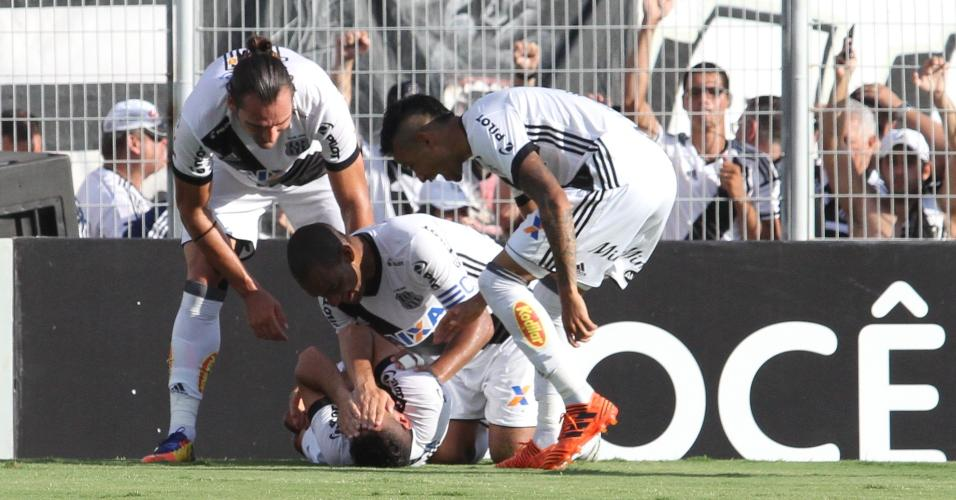 56d701b7266 Ponte vence e retoma o segundo lugar  Botafogo elimina o Bragantino ...