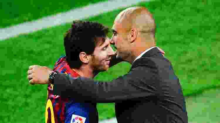 Guardiola Messi - David Ramos/Getty Images - David Ramos/Getty Images