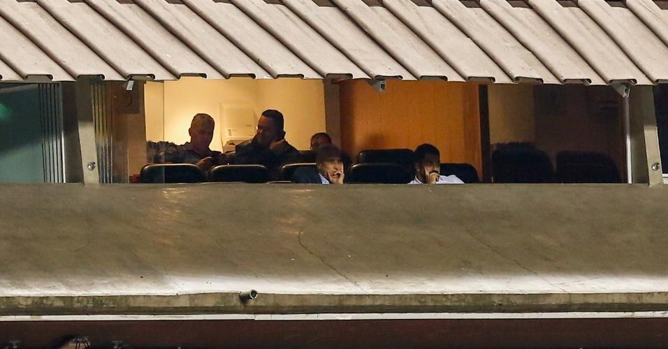 Tite observa São Paulo x Atlético-PR Morumbi