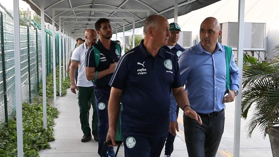Delegação do Palmeiras está na Colômbia para estreia na Libertadores 2019 - Cesar Greco/Palmeiras