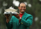 Tiger Woods é campeão do Masters e volta a vencer Major após 11 anos - Mike Ehrmann/Getty Images/AFP