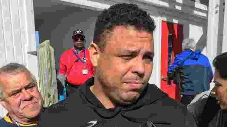 Ronaldo, durante entrevista nos tempos de sócio do Fort Lauderdale Strikers - UOL Esporte